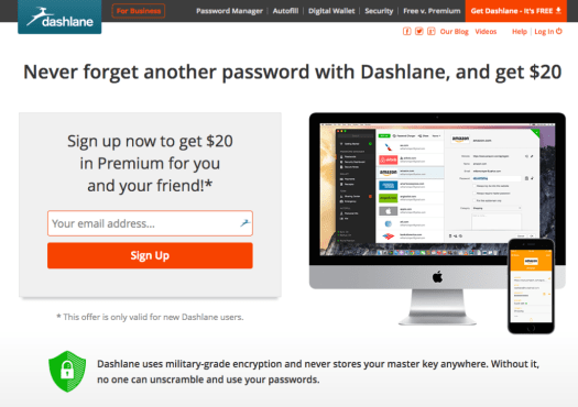 Online Password Manager — Dashlane Online Wallet