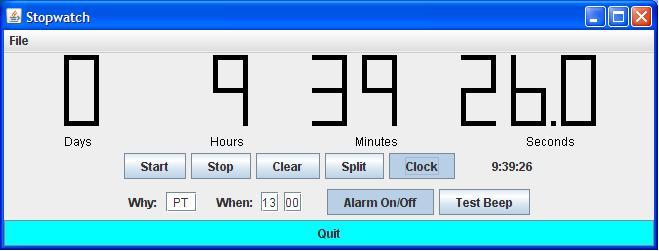 Java Alarm Clock   Unique Alarm Clock