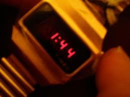 דור ראשון שעון דיגיטלי