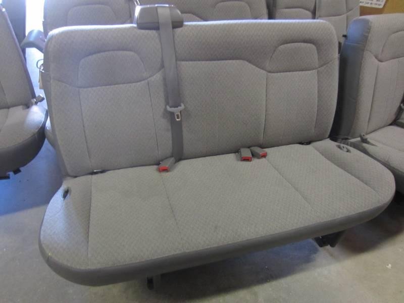 11 16 Chevy ExpressGMC Savana Van 2nd3rd Row 3 Passenger