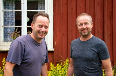 Peter och Kenneth Bergman