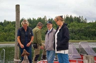 Eva Hamilton, Allan Bengtsson och Helena Wåhlin