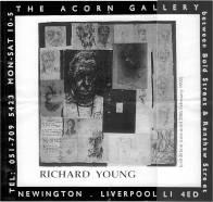 Acorn Gallery flyer 1992