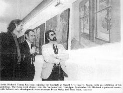Orrell Arts Centre opening 1992