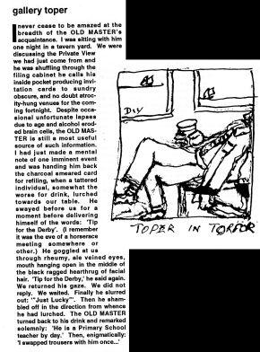 Toper Artspool column 1994