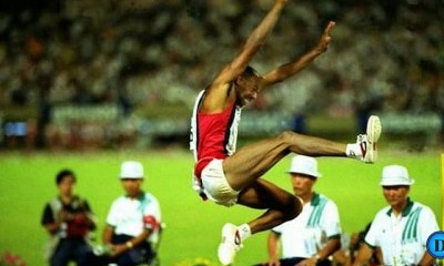 Mike Powell et Carl Lewis 1991