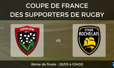 8ème de finale RC Toulon - Stade Rochelais
