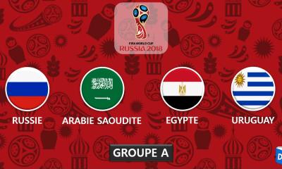 Coupe du monde 2018 - Presentation Groupe A