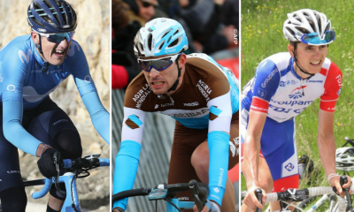 Maillot blanc Tour de France 2018 Soler Latour Gaudu