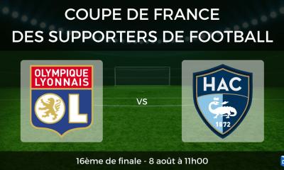 Olympique Lyonnais vs Le Havre - Coupe de France des supporters de football