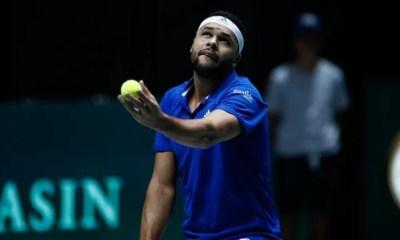Coupe Davis - Jo-Wilfried Tsonga battu, la France en mauvaise posture