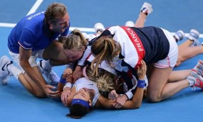 Tennis - La France remporte une troisième Fed Cup