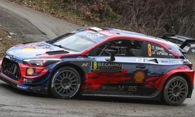 [Vidéo] L'impressionnante sortie de route d'Ott Tänak sur le Rallye de Monte-Carlo