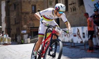 VTT Cross-country Eliminator : Manon Wimmer et Titouan Perrin-Ganier sacrés champions de France