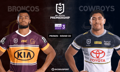 NRL : Notre pronostic pour Brisbane Broncos - North Queensland Cowboys