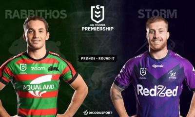 NRL : notre pronostic pour South Sydney Rabbitohs - Melbourne Storm