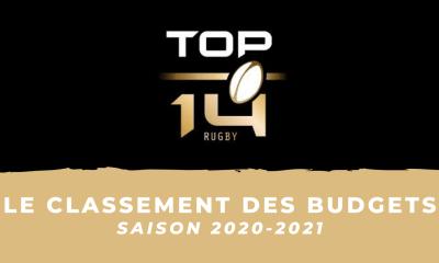 Top 14 : les budgets des clubs pour la saison 2020-2021