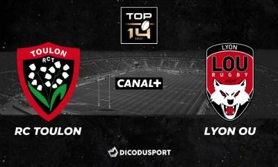 Top 14 : Notre pronostic pour Toulon - Lyon