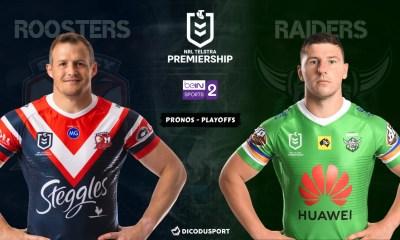 NRL - Notre pronostic pour Sydney Roosters - Canberra Raiders