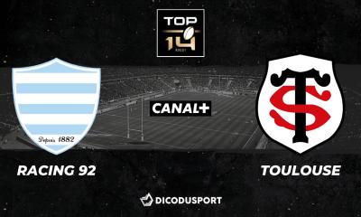 Top 14 - Notre pronostic pour Racing 92 - Stade Toulousain