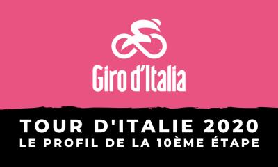 Tour d'Italie 2020 - Le profil de la 10ème étape