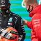 [Vidéo] Mick Schumacher offre le casque de son père à Lewis Hamilton