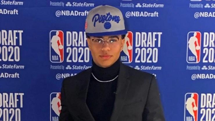 Killian Hayes chez les Pistons - Getty Images