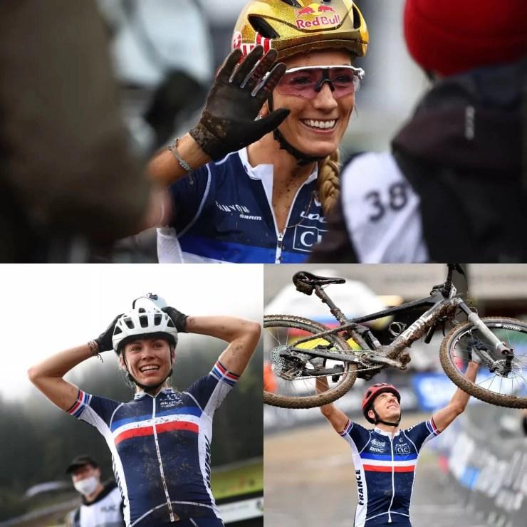 PFP, Lecomte et Sarrou en or massif - UCI MTB