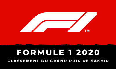 F1 - Grand Prix de Sakhir : le classement de la course
