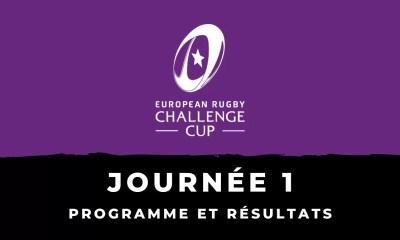 Rugby - Challenge Cup 2020-2021 - 1ère journée - Programme et résultats