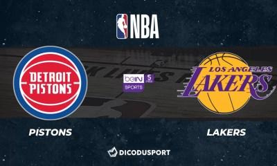 NBA notre pronostic pour Detroit Pistons - Los Angeles Lakers