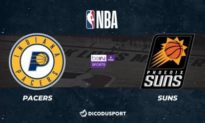 NBA notre pronostic pour Indiana Pacers - Phoenix Suns