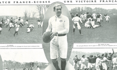 Rugby - 2 janvier 1911 - L'équipe de France de rugby à XV remporte son premier match international