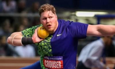 Ryan Crouser bat le record du monde du lancer de poids en salle