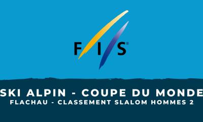 Ski alpin - Flachau - Le classement du deuxième slalom hommes