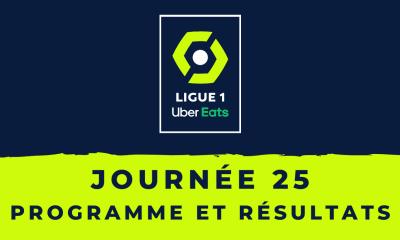 Calendrier Ligue 1 2020-2021 - 25ème journée Programme et résultats