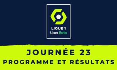 Calendrier Ligue 1 2020-2021 - 23ème journée Programme et résultats