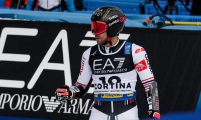 Cortina d'Ampezzo - Mathieu Faivre champion du monde du slalom géant