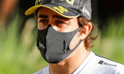 Fernando Alonso renversé par une voiture lors d'une sortie à vélo