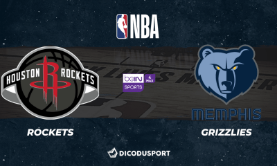 NBA notre pronostic pour Houston Rockets - Memphis Grizzlies