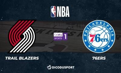 NBA notre pronostic pour Portland Trail Blazers - Philadelphia 76ers