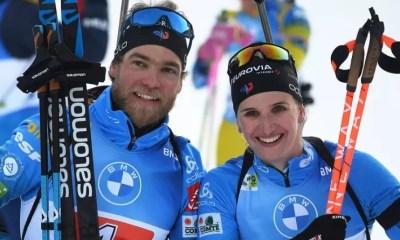 Pokljuka - Julia Simon et Antonin Guigonnat champions du monde sur le relais mixte simple