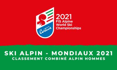 Ski alpin - Championnats du monde 2021 - Le classement du combiné alpin hommes