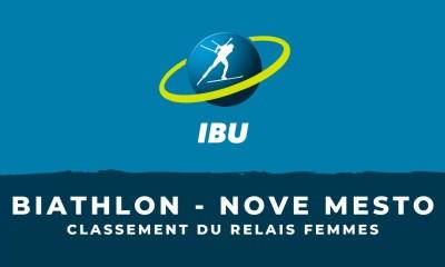Biathlon - Nove Mesto - Le classement du relais femmes