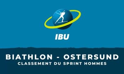 Biathlon - Ostersund - Le classement du sprint hommes