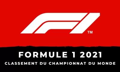 Formule 1 le classement du championnat du monde des pilotes 2021