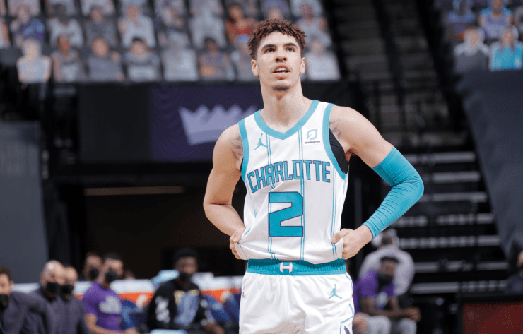 LaMelo Ball rookie NBA