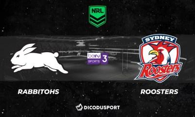 NRL 2021 notre pronostic pour South Sydney Rabbitohs - Sydney Roosters