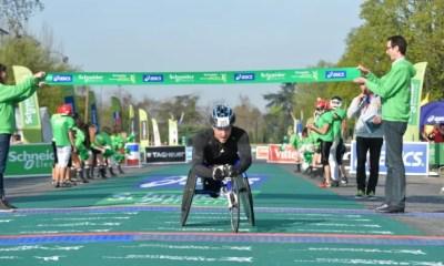 12 avril 2015 - Julien Casoli s'impose au Marathon de Paris