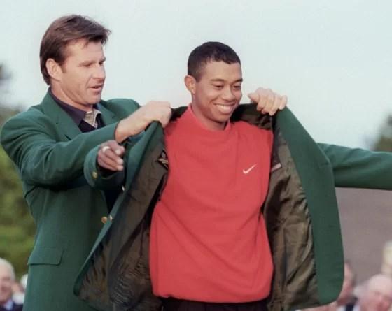 13 avril 1997 - Tiger Woods dans l'histoire